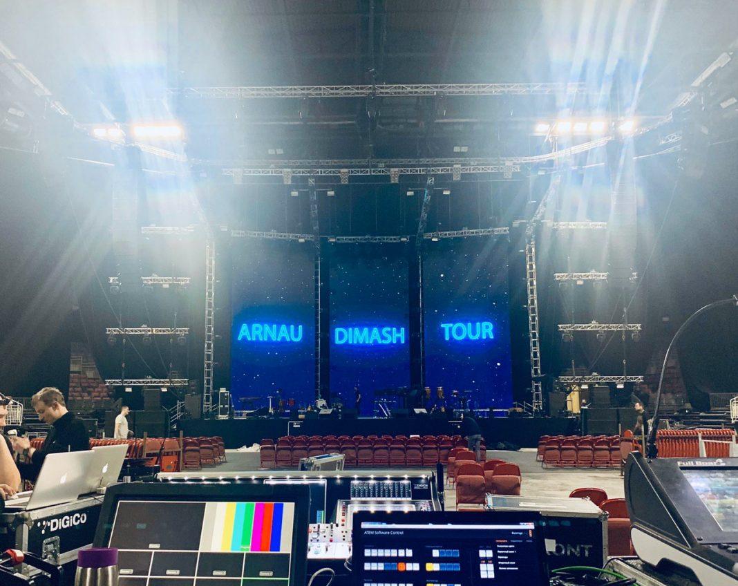 День концерта Димаша в Риге