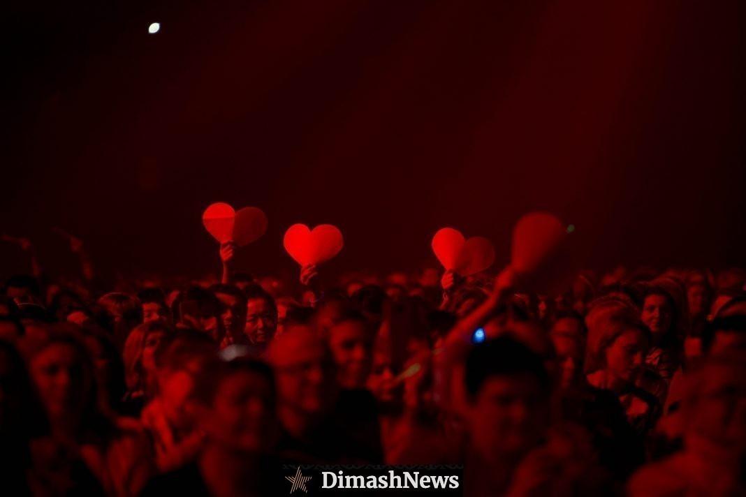 На официальном YouTube канале Димаша выйдет запись концерта в Киеве