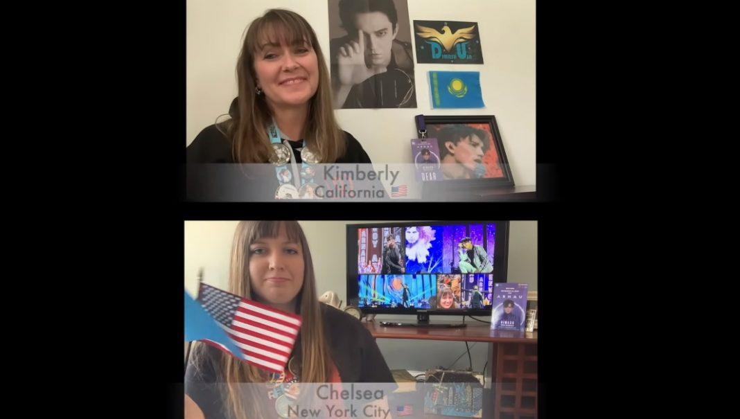Американцы спели «Дайдидау» на казахском языке