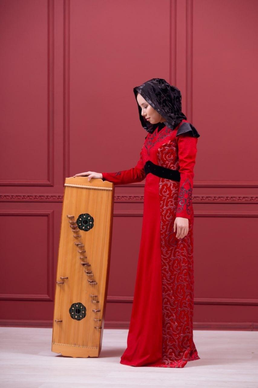 Unique heritage of Kazakh people - Musical instrument zhetygen