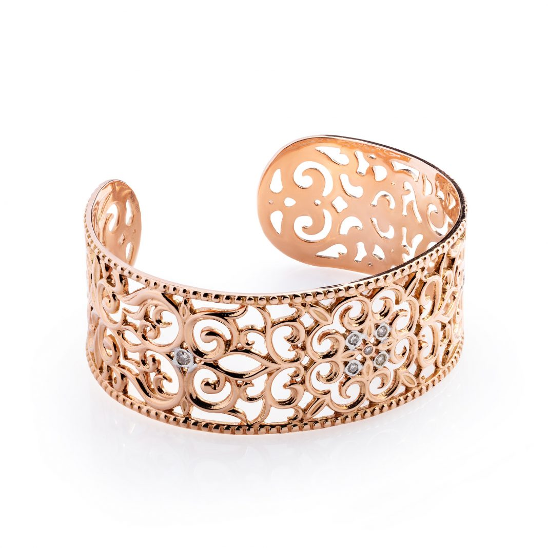 золотой браслет казахское украшение