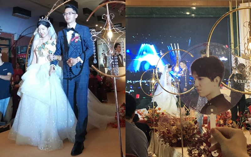 Dimash themed wedding took place in China