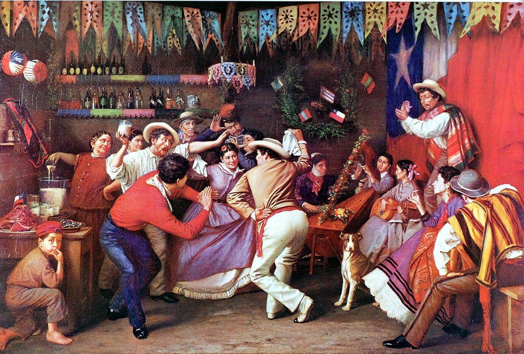 Душа Чили – национальный танец куэка