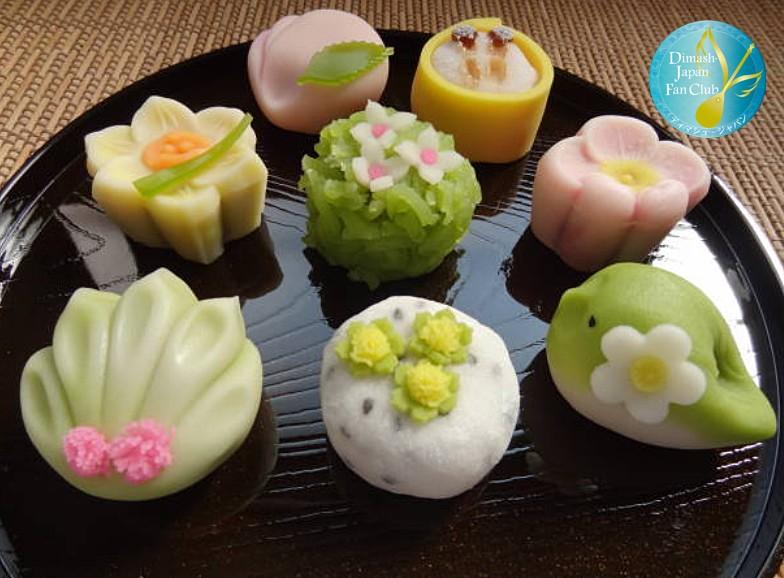 японские сладости намагаши намагаси