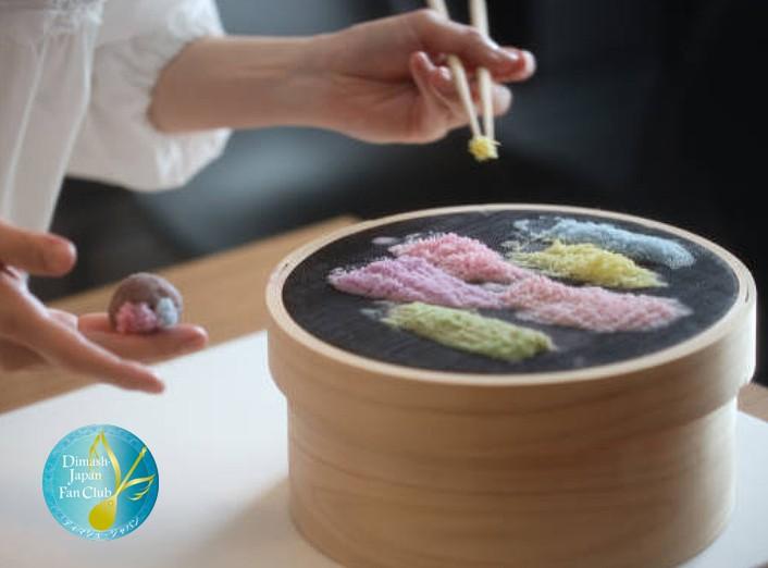 приготовление намагаши японские сладости