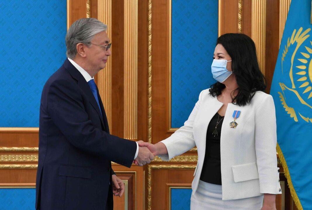 Светлана Айтбаева награждена орденом «Құрмет»