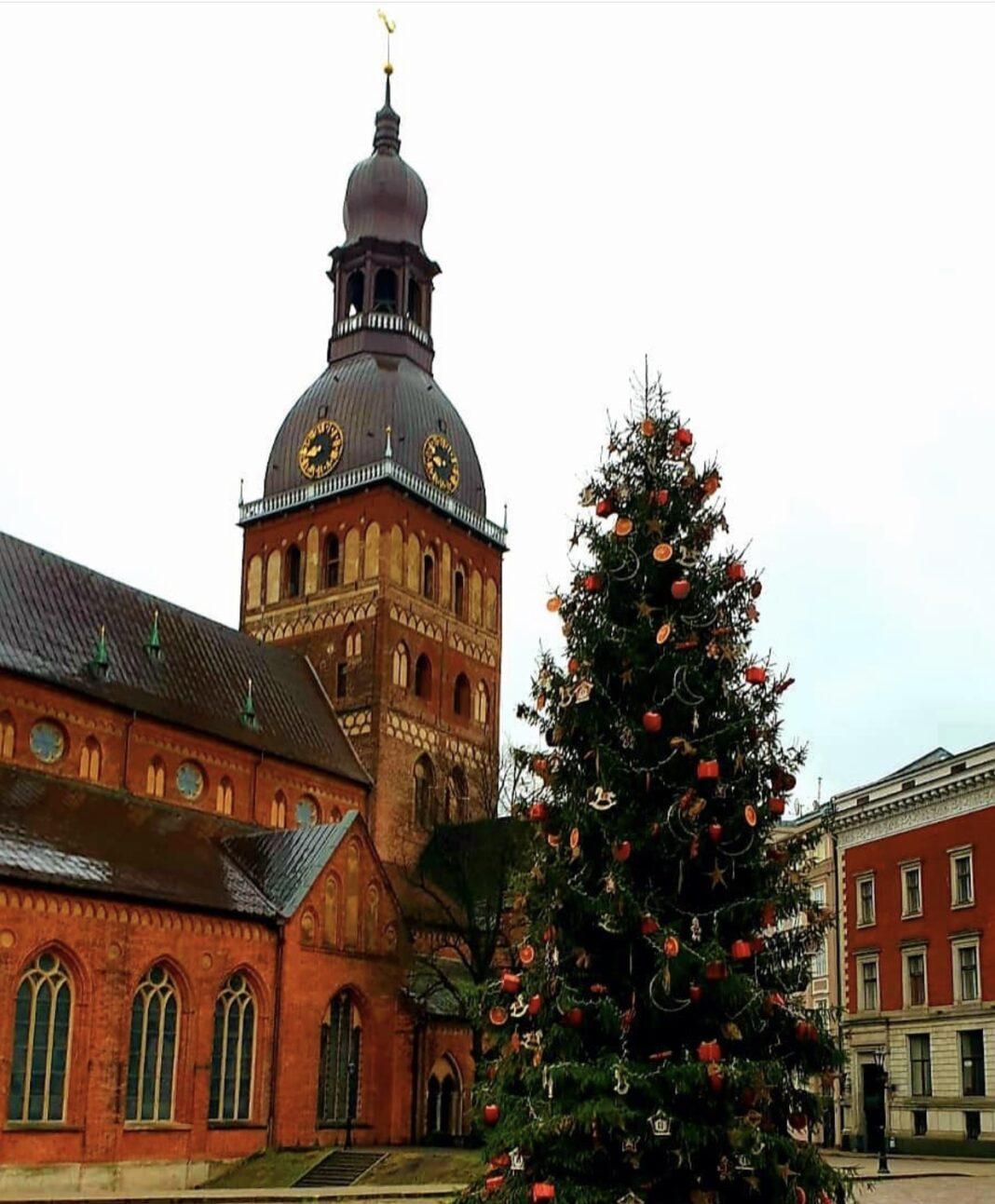 Димаш и Рождество в Латвии