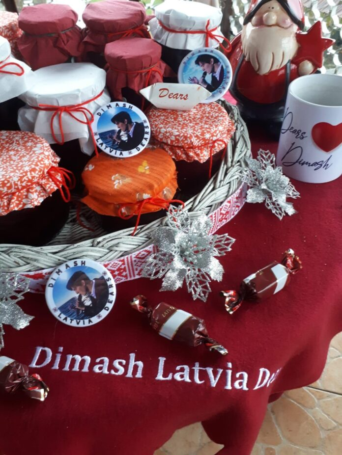 Dimash and Christmas in Latvia