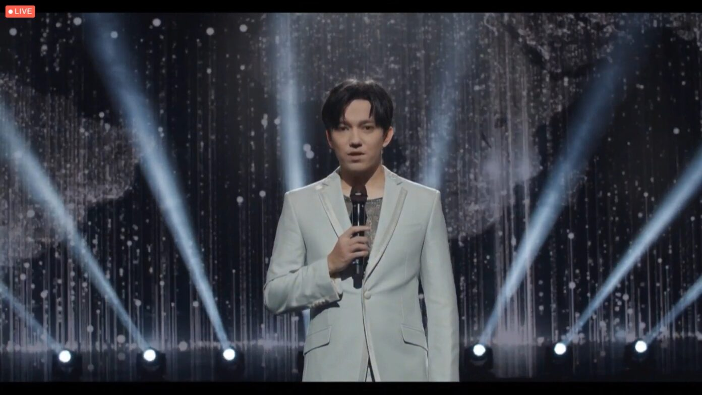 Dimash performed at the Sister Cities International gala