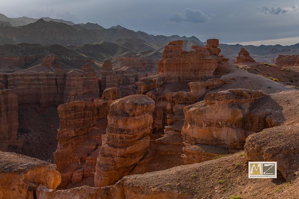 Чарынский каньон фото Максима Золотухина Казахстан