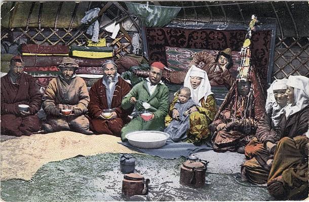 The Kazakh tradition 'Zheti ata' - Seven ancestors