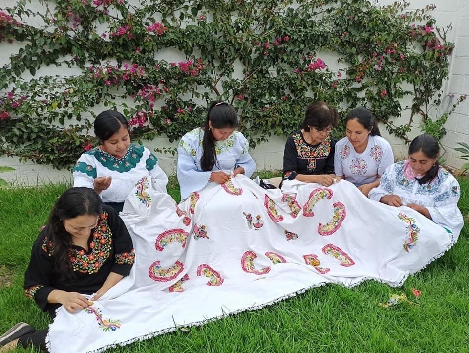 Traditional Zuleta embroidery