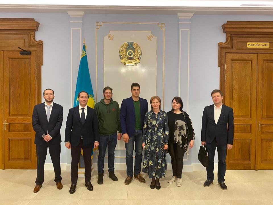 Latvian Dears meet with Kazakhstan's Ambassador to Latvia