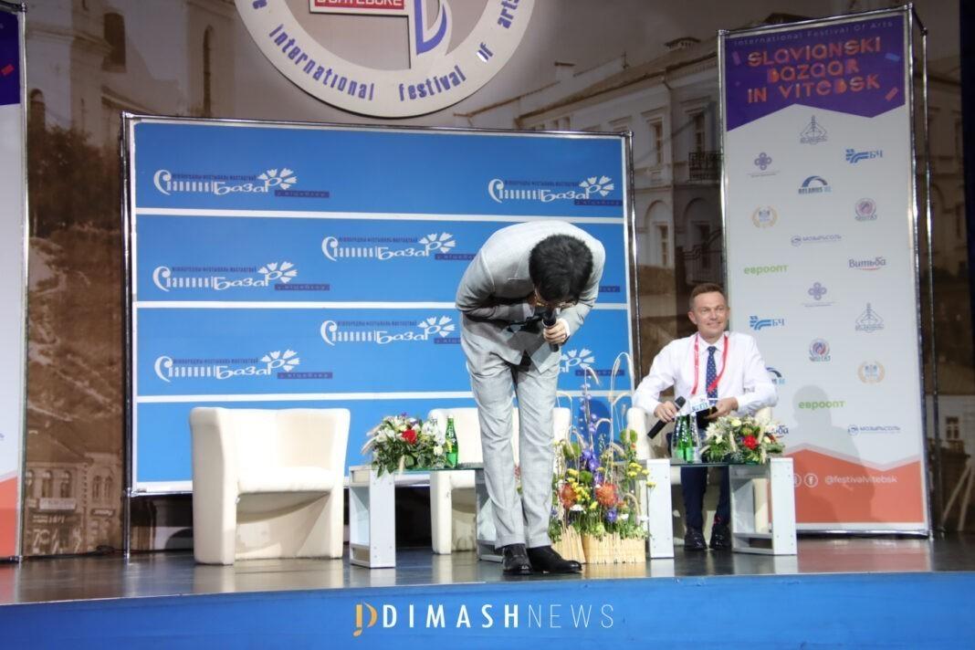 Димаш в Витебске: в планах большой сольный концерт, если не помешает пандемия