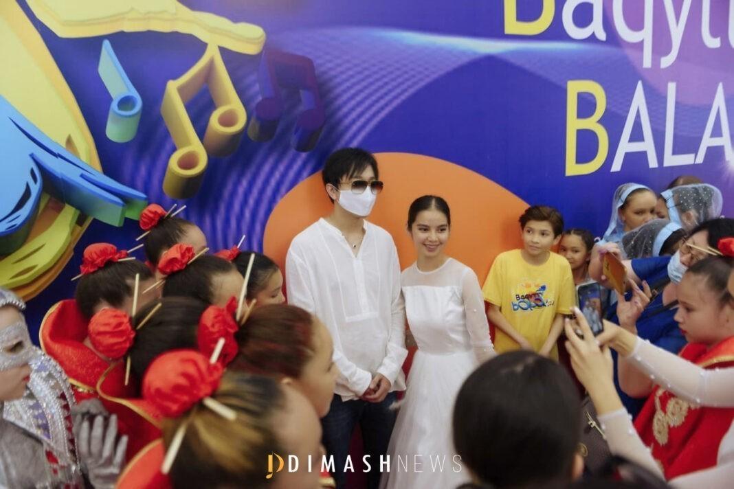 "Dimash at the ""Baqytty Bala"" contest"