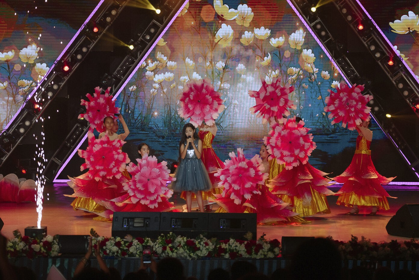 """""""Vivid and large-scale"""": a way to describe Gala Concert of the""""Baqytty Bala"""" Competition"""