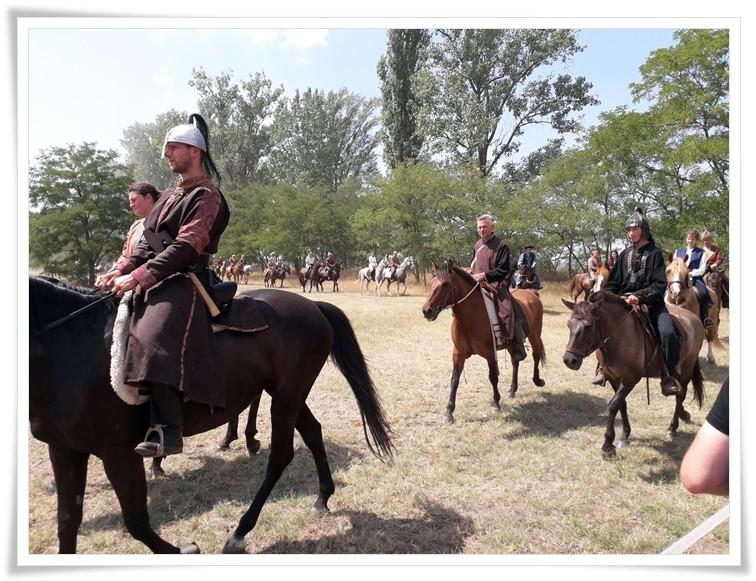 Юрта Димаша на фестивале тюркско-гуннской культуры