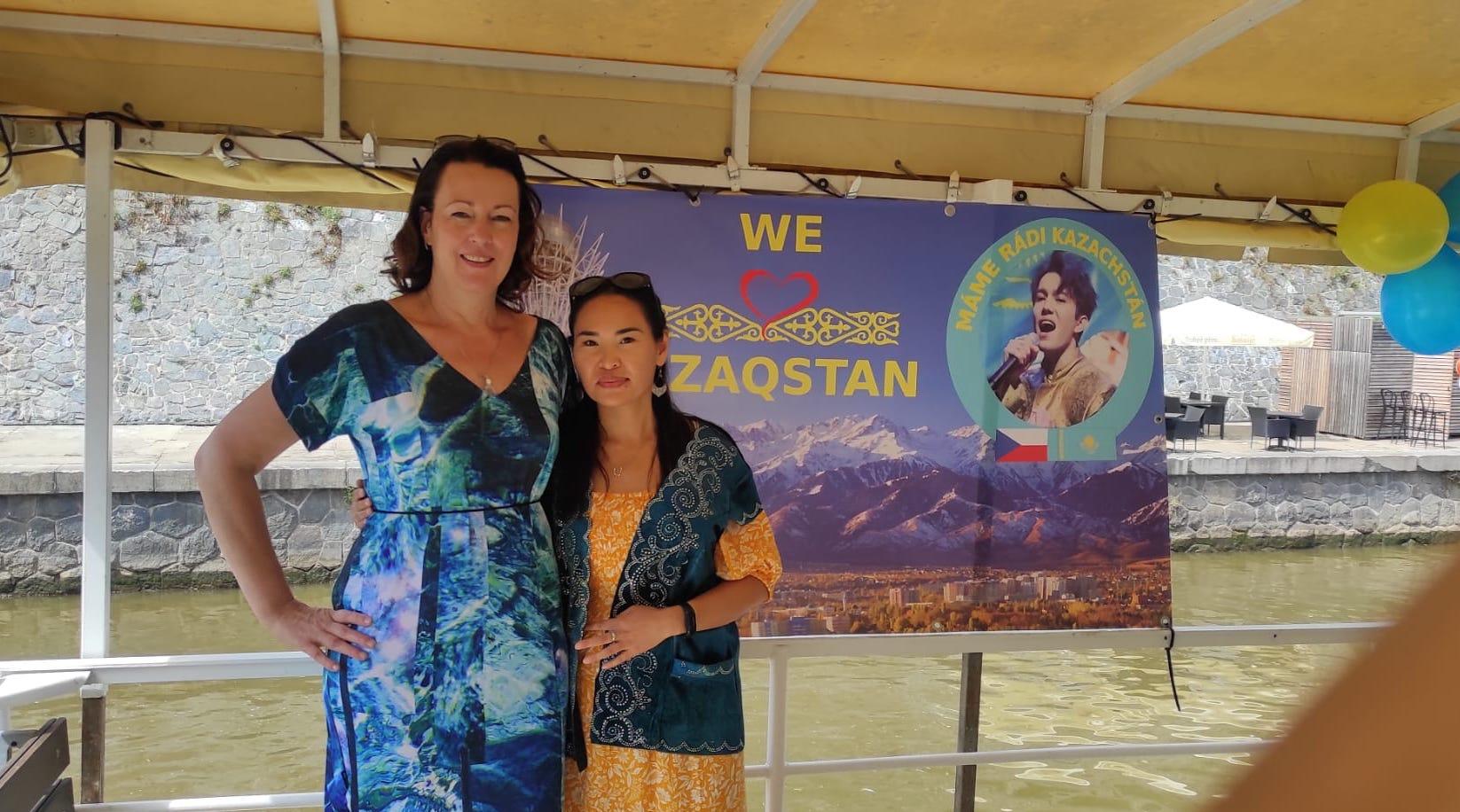 Ива фан-клуб Чехия Прага 30 лет независимости Казахстан
